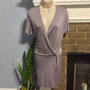 Banana Republic silk twist dress